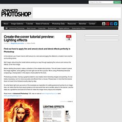 Create-the-cover tutorial preview: Lighting effects