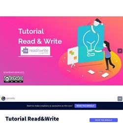 Tutorial Read&Write