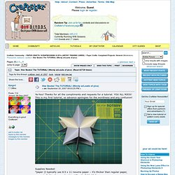 Star Books Tutorial