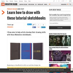 Learn how to draw with these tutorial sketchbooks