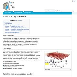 Grasshopper Space Frame