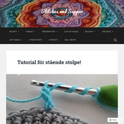 Tutorial för stående stolpe! – Stitches and Supper