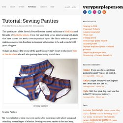 Tutorial: Sewing Panties