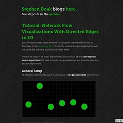 Stephen Boak — Tutorial: Network Flow Visualizations With Directed Edges in D3