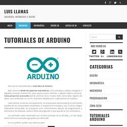 luisllamas.es - Tutoriales de Arduino