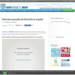 Tutoriales avanzados de Hootsuite en español
