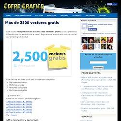 Más de 2500 vectores gratis para descargar