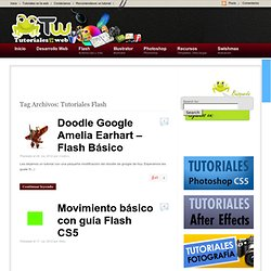 Tutoriales Flash | Tutoriales en la Web
