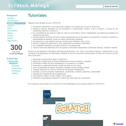 Tutoriales - Scratch Málaga