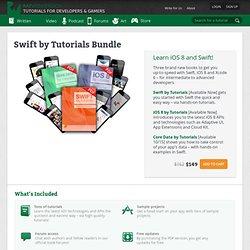 Swift by Tutorials Bundle
