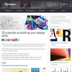 25 Tutorials to Build Up Your Design Skills - Designer Blog Designer Blog