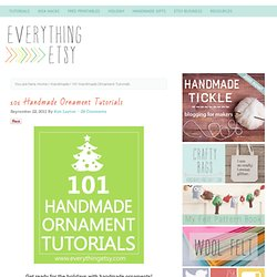 101 Handmade Christmas Ornaments