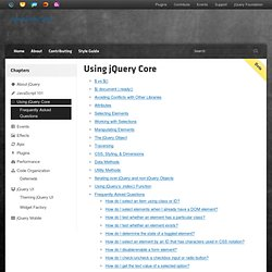 Tutorials:Getting Started with jQuery