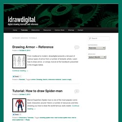 Tutorials | idrawdigital - Tutorials for Drawing Digital Comics