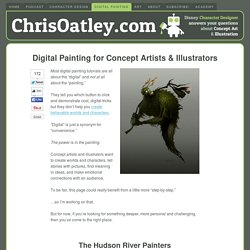 Digital Painting Tutorials for Concept Artists & Illustrators