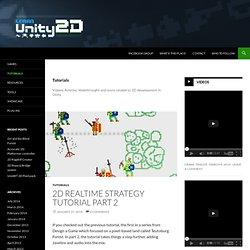 Learn Unity 2D
