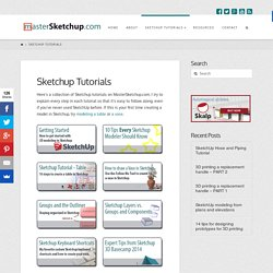Sketchup Tutorials, Tips & Tricks