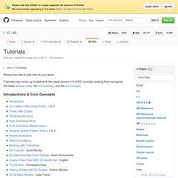 Tutorials · mbostock/d3 Wiki