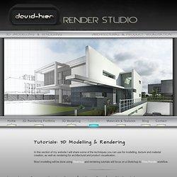 Tutorials: 3D Modelling & Rendering