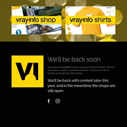 VRay.info | V-Ray shop, Tutorials, News, Reviews, Artist interviews