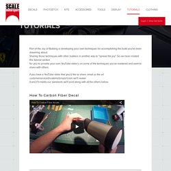 Tutorials - Scale Motor Sport