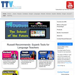 Teacher Training Videos created by Russell Stannard