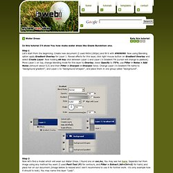 Web tutorials and free templates