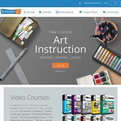 Free Art Lessons-Art Instruction-TheVirtualInstructor.com