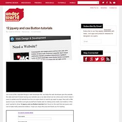 12 jquery and css Button tutorials | Underworld Magazines NYC |