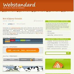 Webdesign und Webentwicklung im Webstandard-Blog - Best of jQuer