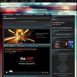 TUTORIAUX SCRATCH - Tutorial sur les… - NAB 2012, vidéo de… - Deux nouveaux… - Tutorial sur… - Etalonneur numérique