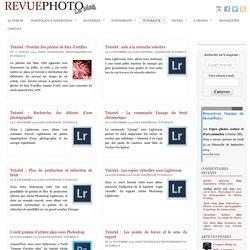 Les quelques tutoriels de revuephoto.com