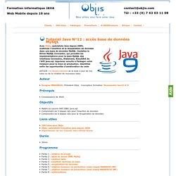 Tutoriel Java N°12 : accès base de données MySQL