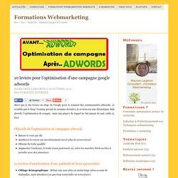 tutoriel pour améliorer une publicité adwords