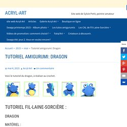 Tutoriel amigurumi: Dragon - Acryl-Art