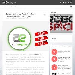 [Tutoriel Andengine] Partie 1 - Mes premiers pas avec AndEngine « Ace Art Ace Art
