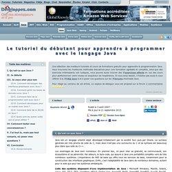 Le tutoriel du débutant pour apprendre à programmer avec le langage Java