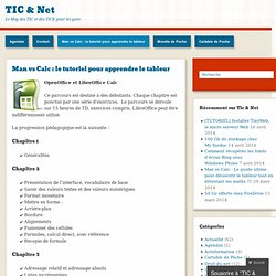 Cours OpenOffice Calc