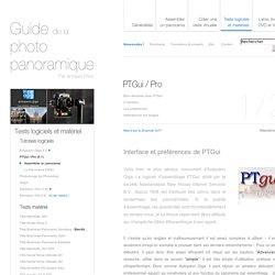 Tutoriel PTGui : Assembler un panorama.