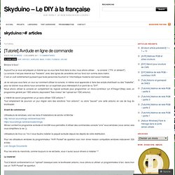 [Tutoriel] Avrdude en ligne de commande « Skyduino – Le DIY à la française