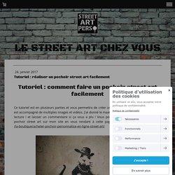 Tutoriel : comment faire un pochoir street art facilement