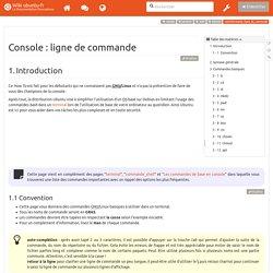 tutoriel:console_ligne_de_commande