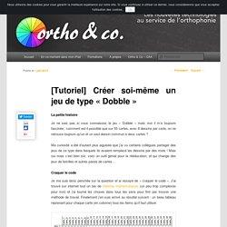 Créer soi-même «Dobble»