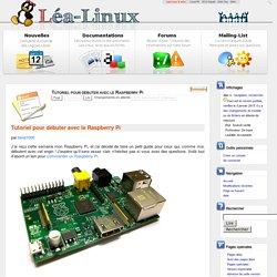 Tutoriel pour débuter avec le Raspberry Pi — Lea Linux