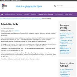 Tutoriel Genial.ly