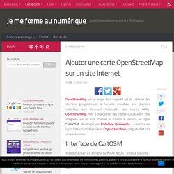 Tutoriel : ajouter une carte OpenStreetMap sur un site Internet