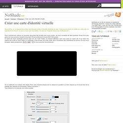 Créer une carte d'identité virtuelle