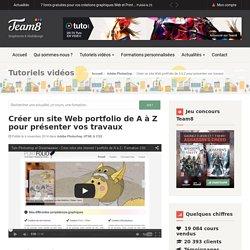Tutoriel site Web portfolio avec Photoshop HTML et CSS