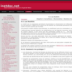 5.3.Les Rootkits