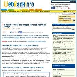 Tutoriel sur le sitemap Google pour les images